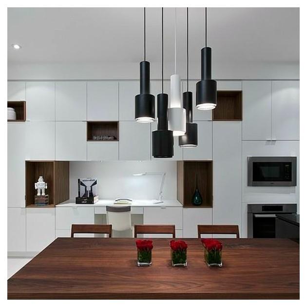 Comedor cocina Lámparas de suspensión A110 de Artek color negro