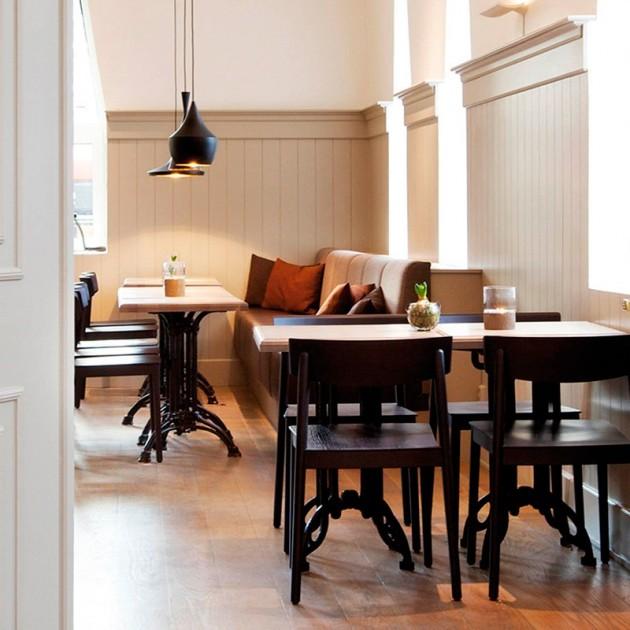 habitación Sillas Smart SI0610 Andreu World madera de haya lacada