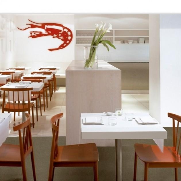 restaurante Silla Smile SI-0323 Andreu World