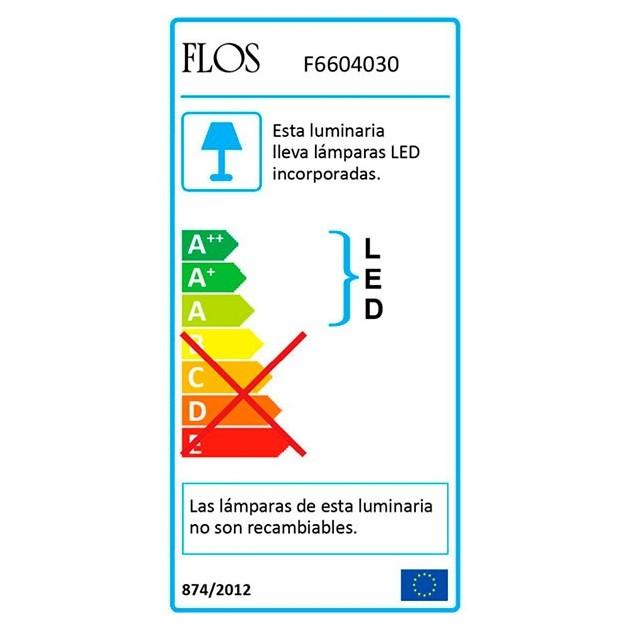 Lámpara Taccia Small Flos eficiencia energética