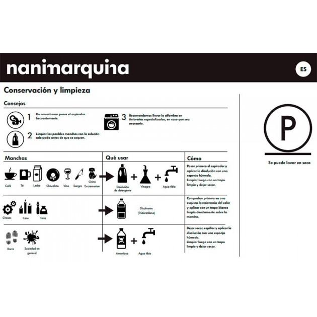 cuidados Alfombra Mélange Pattern 3 Nanimarquina