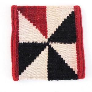 muestra tejido Alfombra Mélange Stripes 1 Nanimarquina