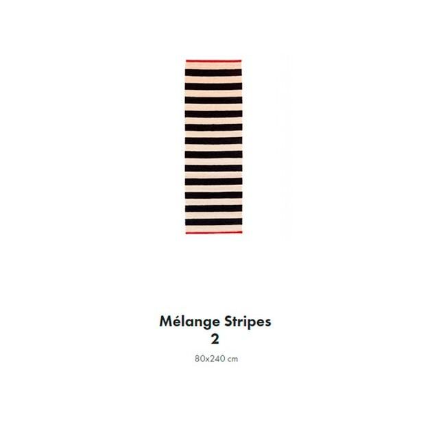 medidas Alfombra Mélange Stripes 2 Nanimarquina