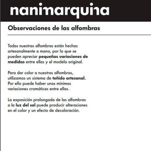 información producto Alfombra Mélange Stripes 2 Nanimarquina