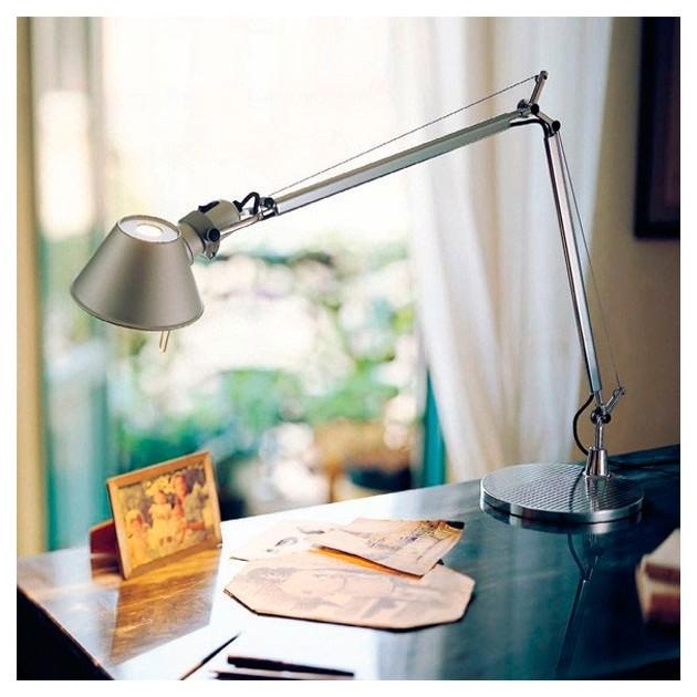 escritorio lampara de sobremesa Tolomeo Micro Artemide