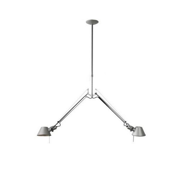 lámpara de suspensión 2 brazos Tolomeo Artemide