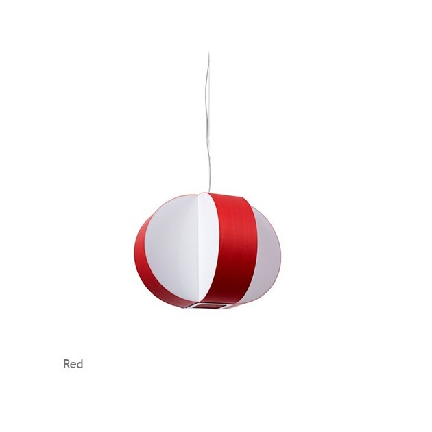 Lámpara Luzifer Carambola pequeña color rojo
