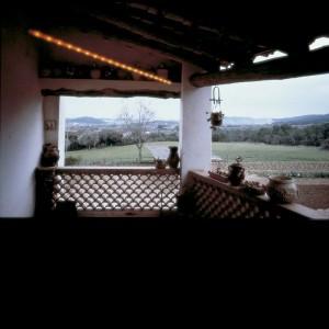 Lámpara La Colilla Santa & Cole terraza