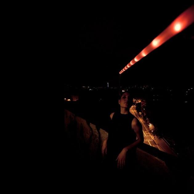 Lámpara La Colilla Santa & Cole balcón