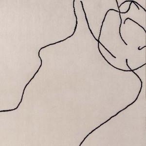 detalle dibujo Alfombra figura Humana 1948 Nanimarquina