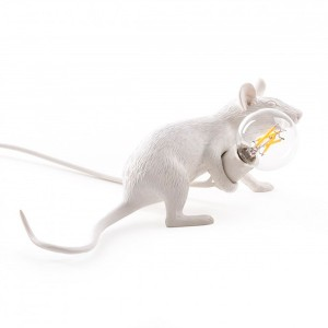 Mouse Lamp Lie Down Seletti