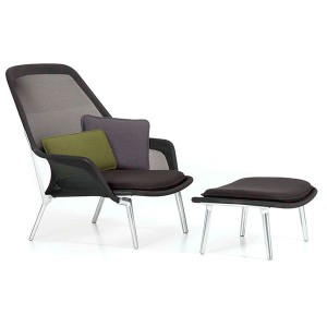 Slow Chair & Ottoman - Vitra