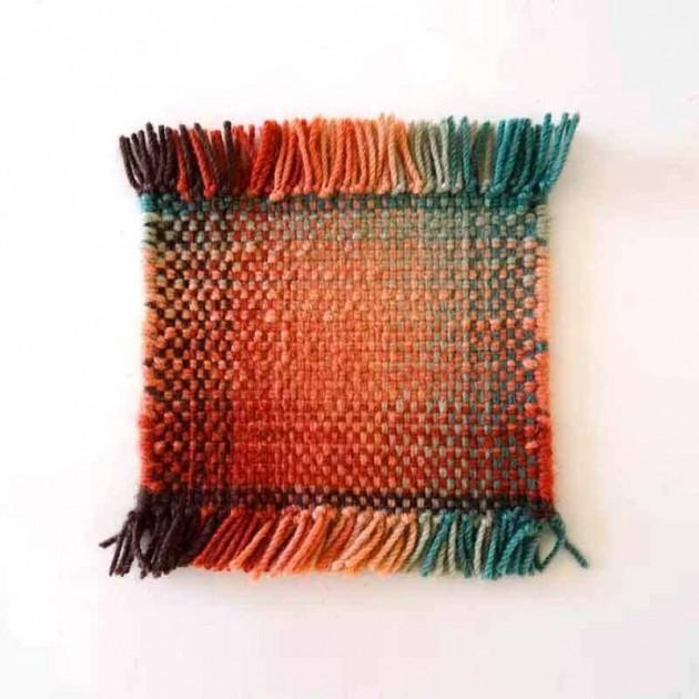 detalle tejido alfombra shade palette 1 nanimarquina