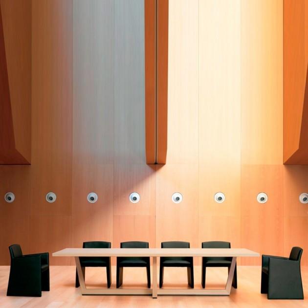 interior con Mesa de comedor Uves ME3664 Andreu World