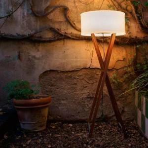 ambiente aire libre Lámpara de pie Cala 140 outdoor Marset
