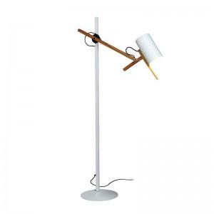 lámpara de pie Scantling P73 Marset blanca