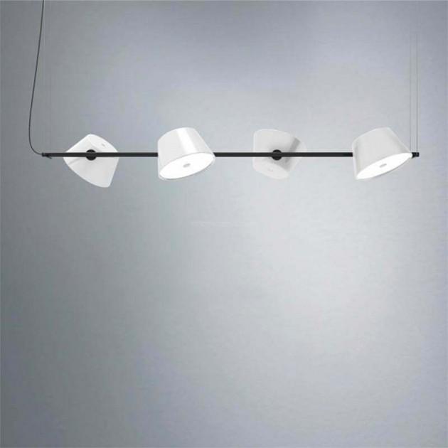 Lámpara de suspensión TamTam 4 Marset blanca