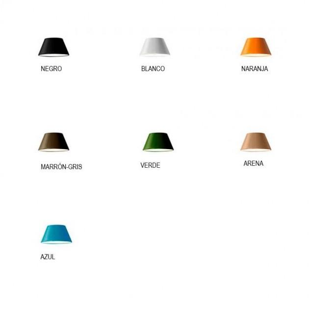 colores Lámpara de pie Tam Tam P Marset