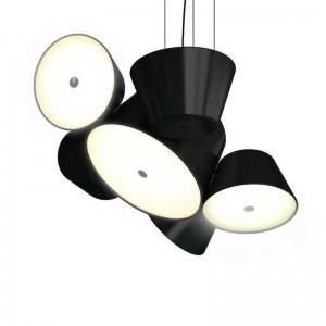 Lámpara de suspensión Marset Tam Tam 5 negra