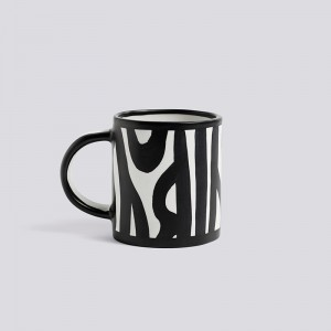 Wood Mug White - Hay