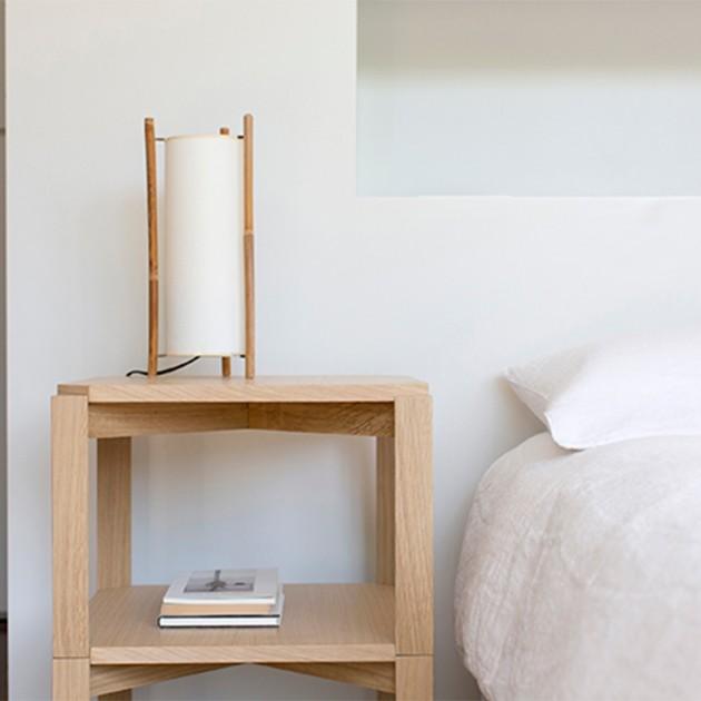 Mesita MMS Mobles 114 como mesilla de dormitorio