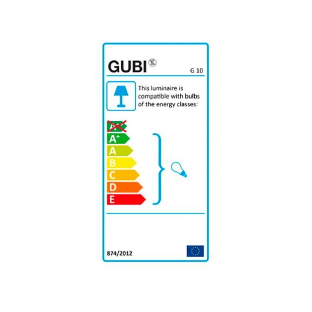 Lámpara G-10 Floor Gubi eficiencia energética