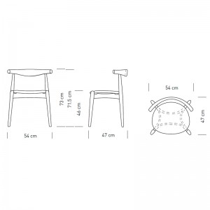 CH20 Elbow Chair Carl Hansen