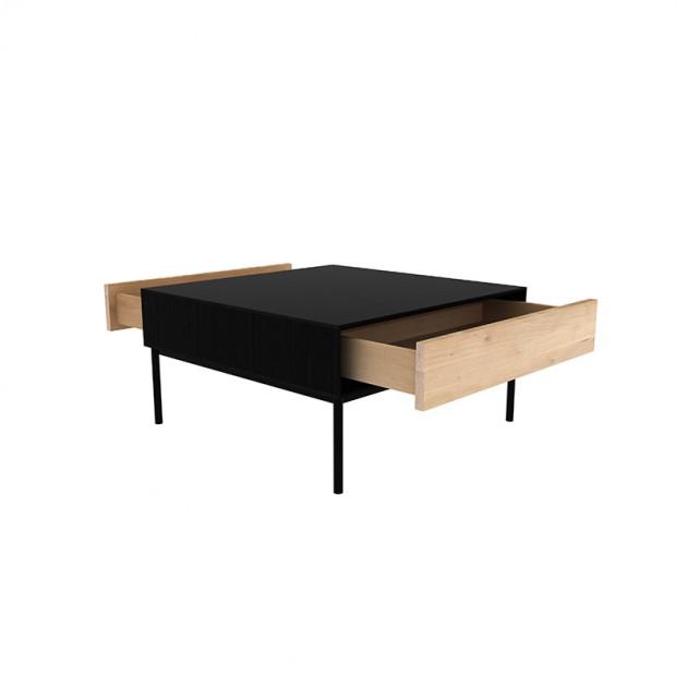 Ethnicraft mesa de centro Blackbird Moises Showroom
