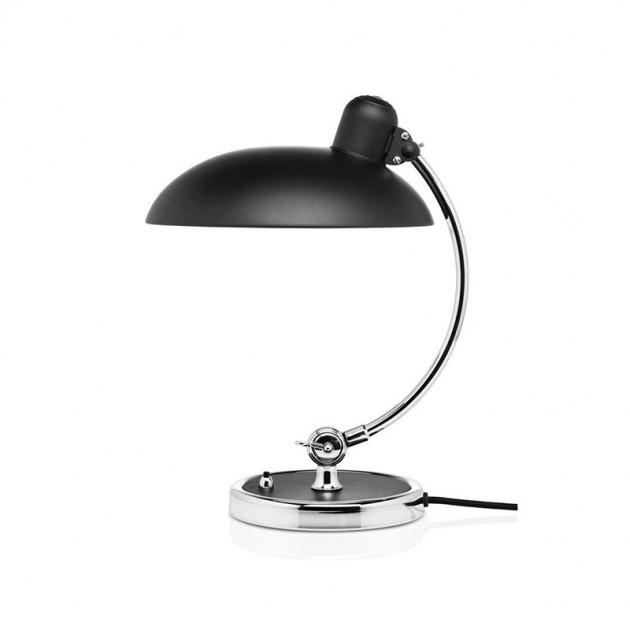 Lámpara de mesa Kaiser Luxus color negro mate de Fritz Hansen