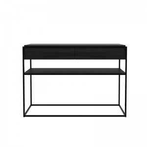 Consola Monolit roble negro Ethnicraft