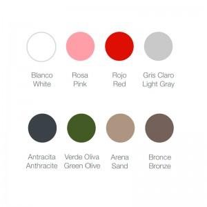 Mesa Butaca 356 Diabla colores