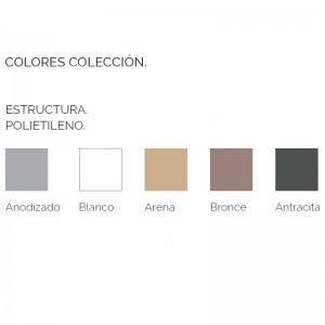 Sofá modular 4 Na Xemena  Gandia Blasco colores