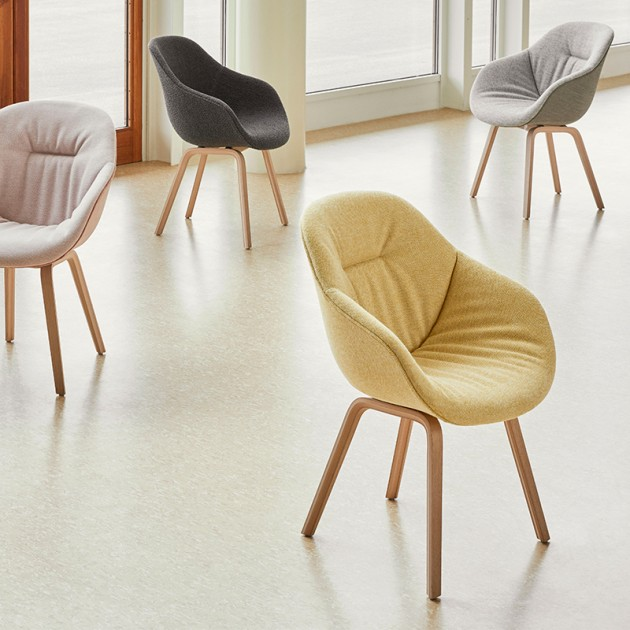 Silla About a chair 123 Soft de HAY en Moises Showroom