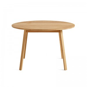 Triangle Leg Round Table - HAY