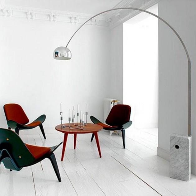 Lámpara Arco pie Flos