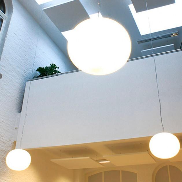 Lámpara Glo-Ball S 2 suspensión Flos