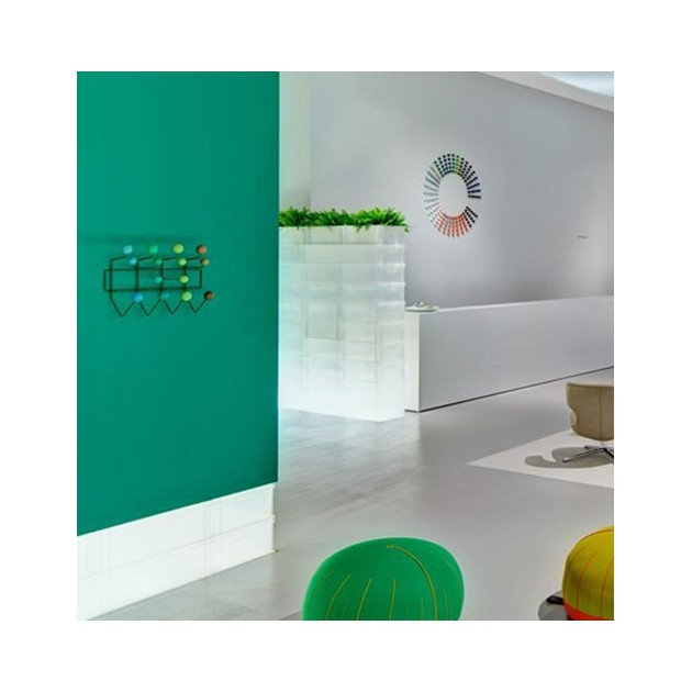 Perchero Hang It All verde Vitra