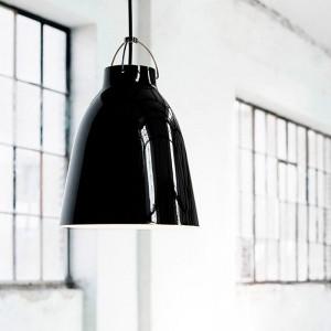Lámpara Caravaggio P3 color BlackBlack en ambiente de Fritz Hansen