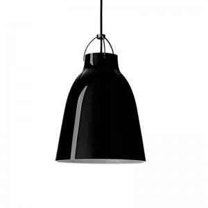 Lámpara Caravaggio P2 Black Black Fritz Hansen