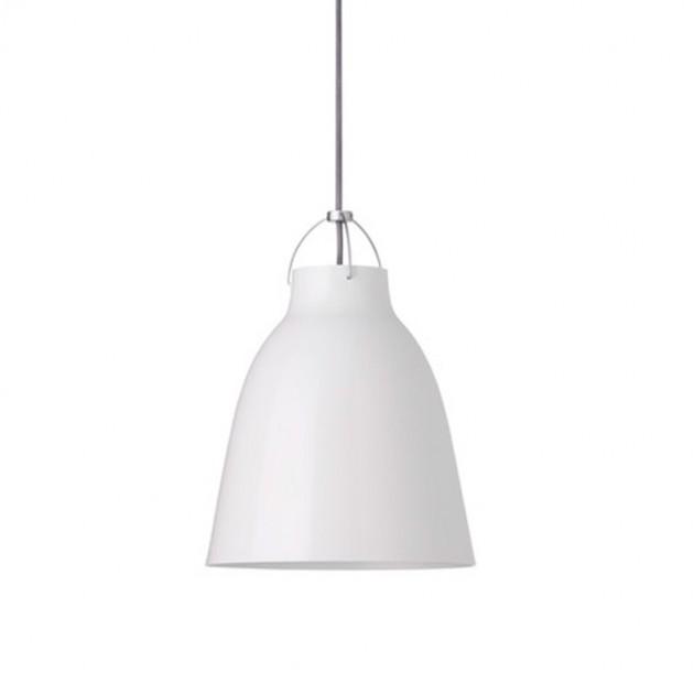 Lámpara Caravaggio P1 color blanco de Fritz Hansen