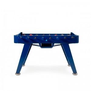 Futbolín RS2 color azul de RS barcelona. Disponible en Moisés showroom