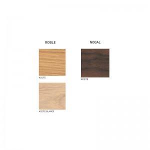 Muestras madera Credenza CH825 de Carl Hansen. Disponible en Moisés showroom