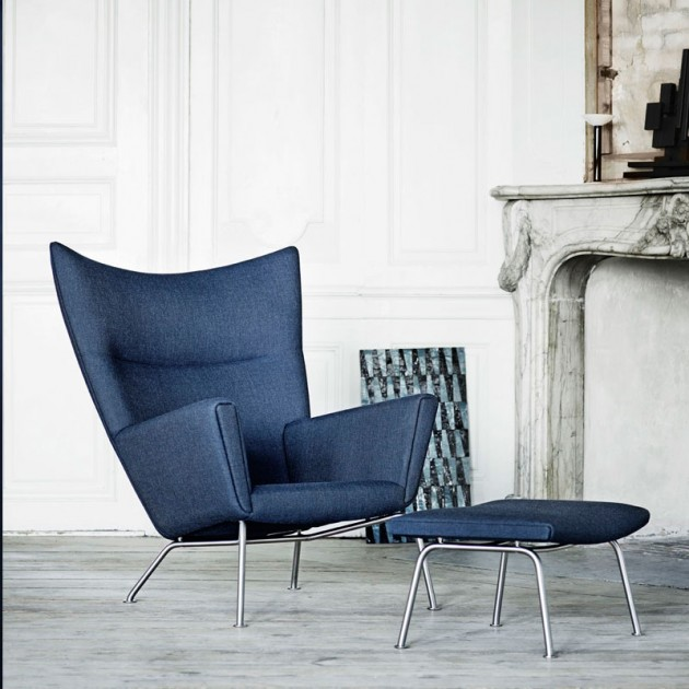 comprar sillón wing chair CH445 de carl Hansen. Disponible en Moisés showroom
