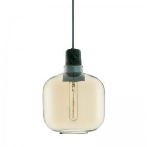 Comprar lámpara de suspensión amp S color verde y oro de Normann Copenhagen