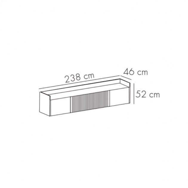 dimensiones Mueble de tv Stockholm 403 de Punt mobles