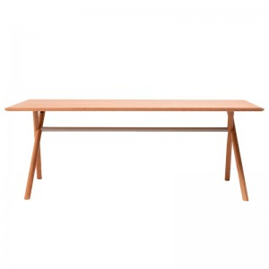 Mesa de madera BAI de Ondarreta en Roble disponible en Moises Showroom