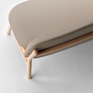 Detalle sillón doble Lana de Ondarreta