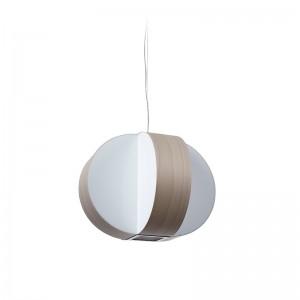 Lámpara Luzifer Carambola pequeña color gris