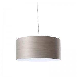 Lámpara suspensión Gea S de Luzifer gris
