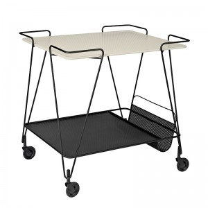 Mategot Trolley de Gubi Cream White en Moises Showroom
